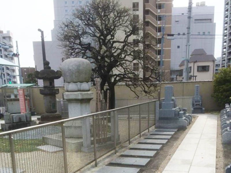 勝楽寺 墓園風景