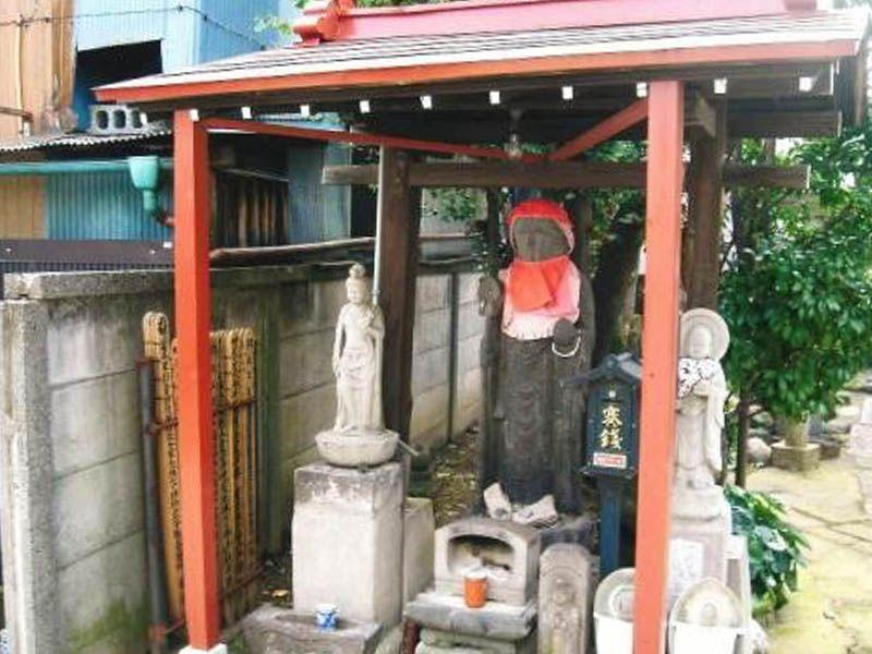 専念寺 石仏の地蔵尊