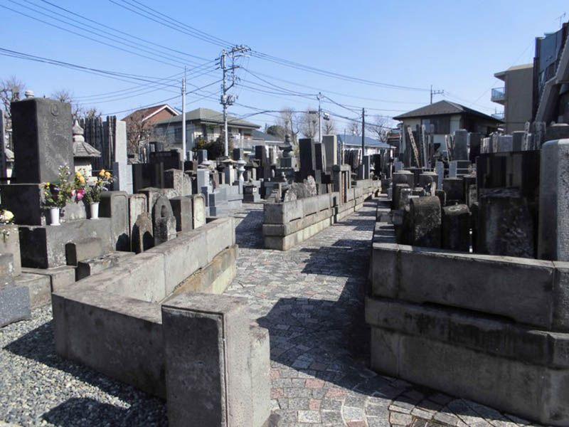 稲荷山 光明院 墓地内風景