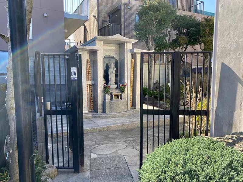 長源寺 永代供養墓入口