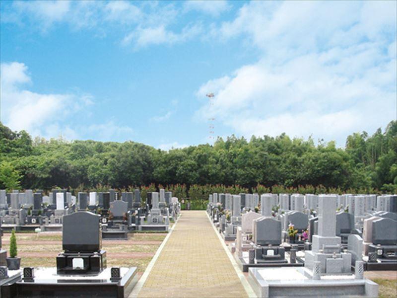 パークフォレスト堺 広い墓域