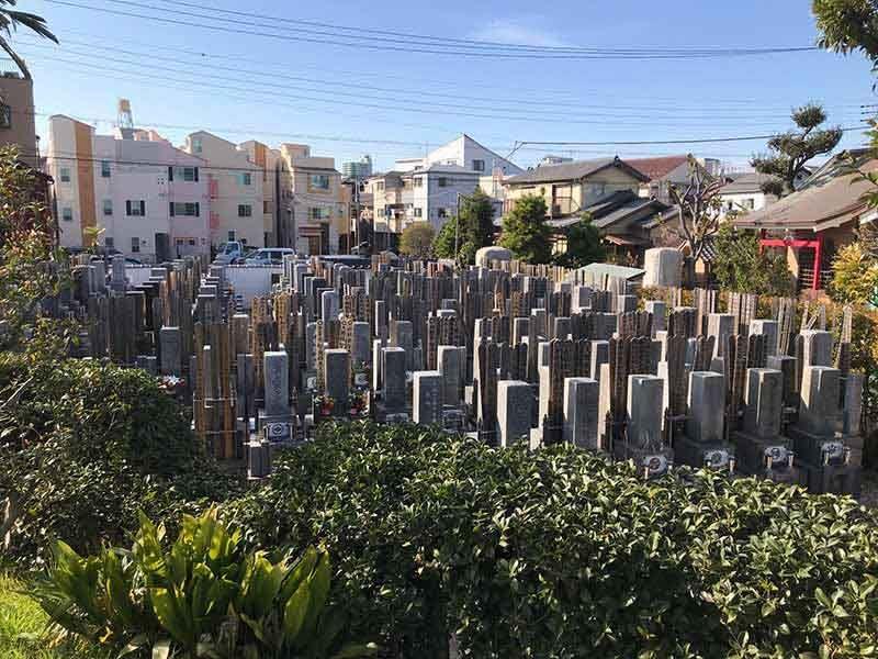 東立石樹木葬墓地