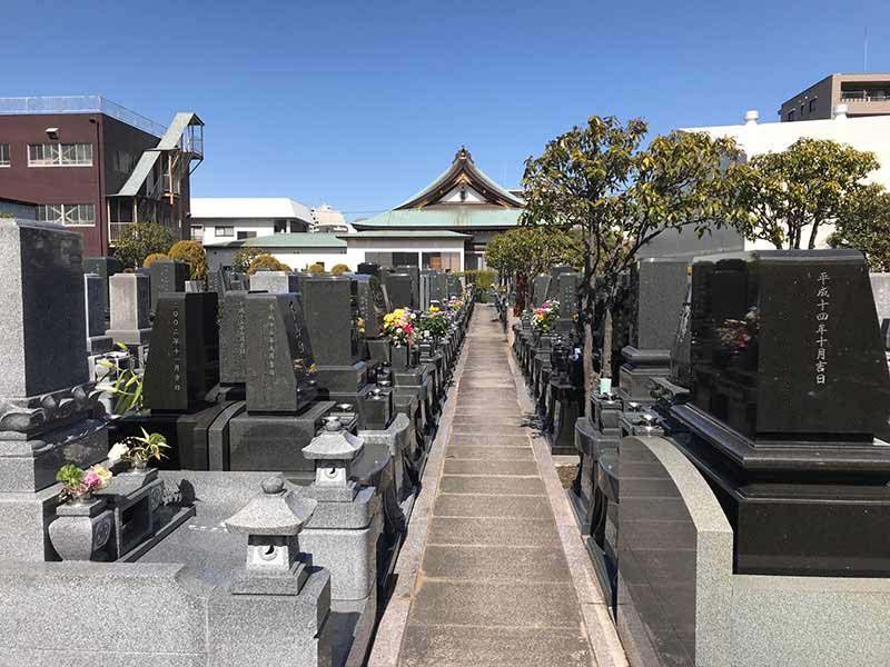 グリーンパーク葛飾 日当たりのよい墓域