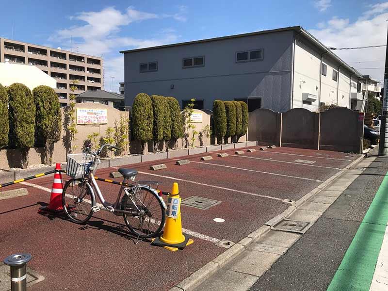 グリーンパーク葛飾 自転車も止められる駐車場