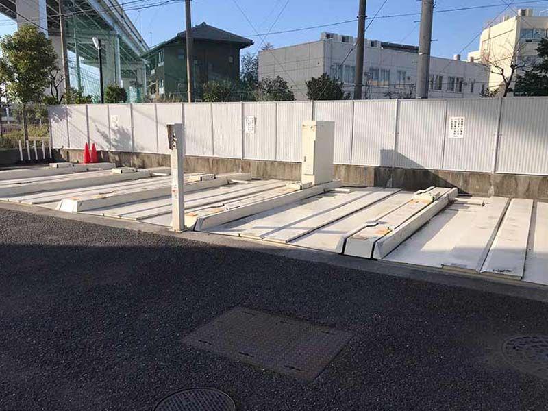 四つ木聖地苑 整備された駐車場