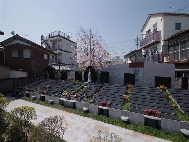眞乗寺東墓地 永代供養墓・樹木葬 住宅街にある墓域