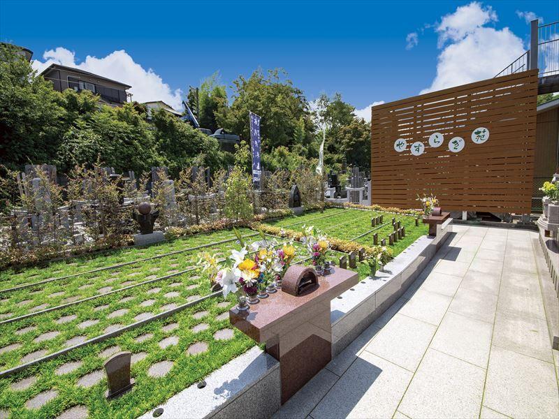 一乗院 永代供養墓・樹木葬 開放的な樹木葬