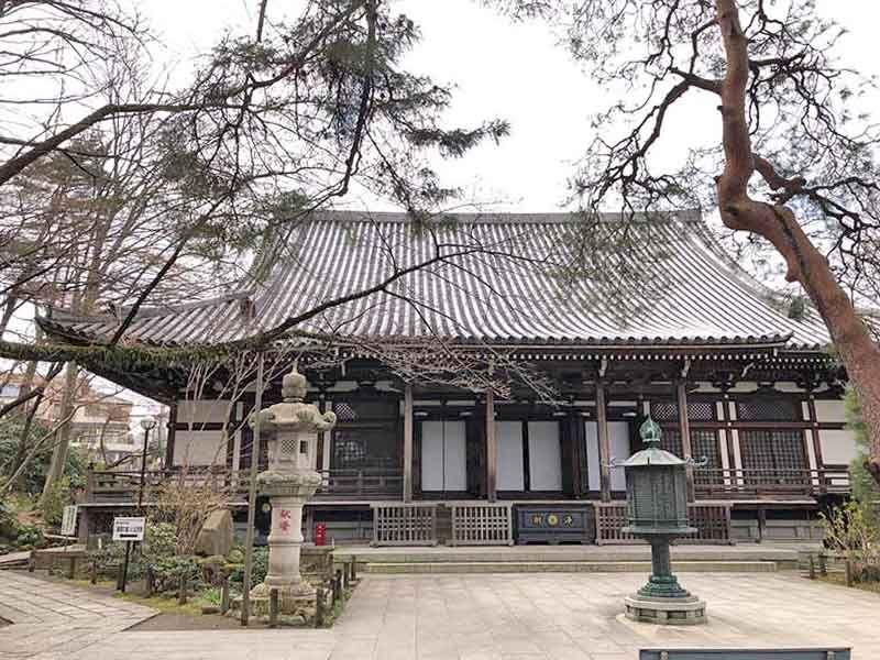高幡不動尊金剛寺 高幡山の総本堂である大日堂