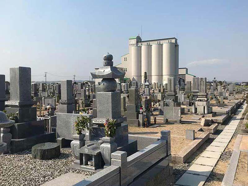 岡山市営 中畦墓地