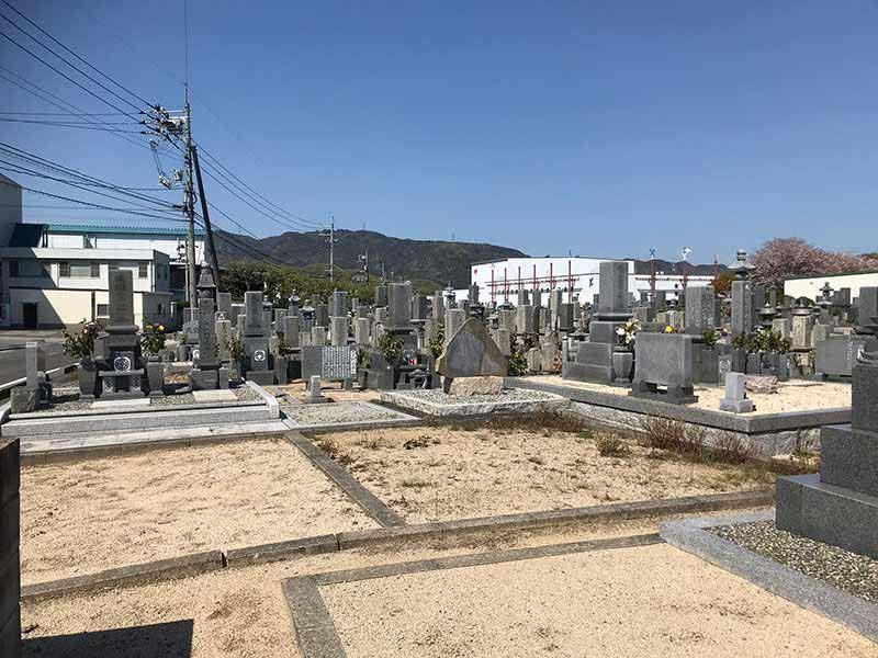 瀬戸内市営 服部墓地