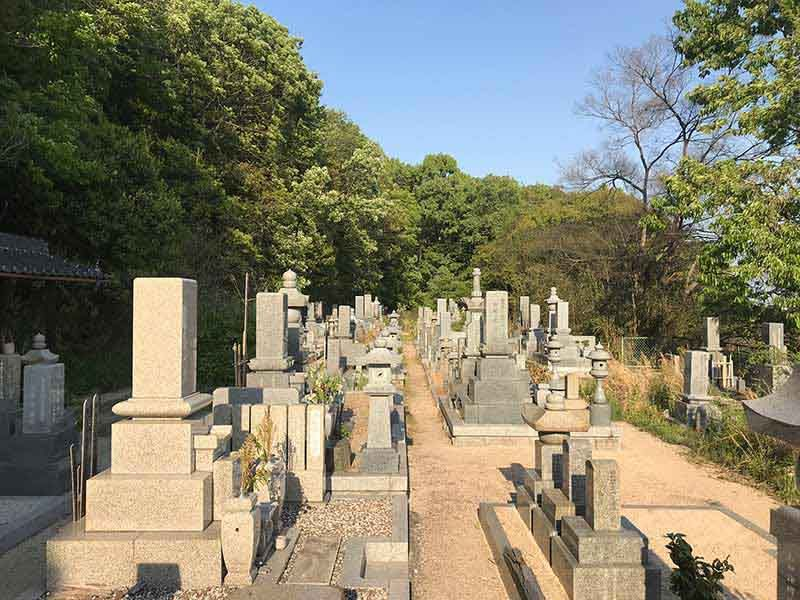 岡山市営 八幡後墓地