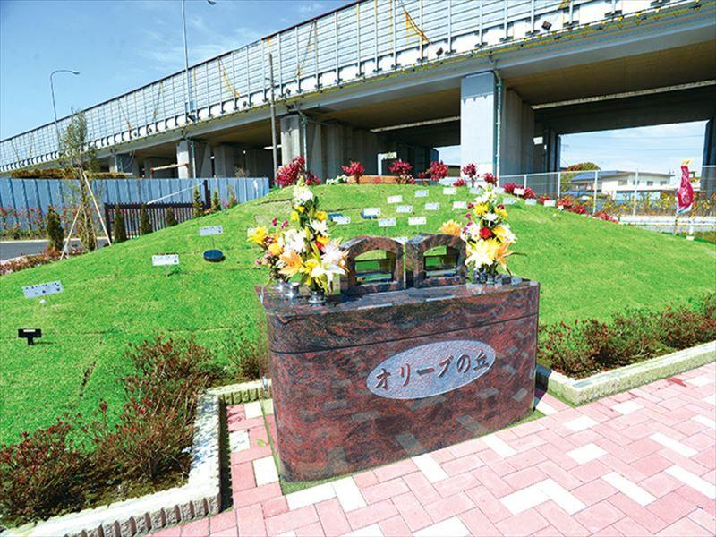吉川霊園 樹木葬「オリーブの丘」