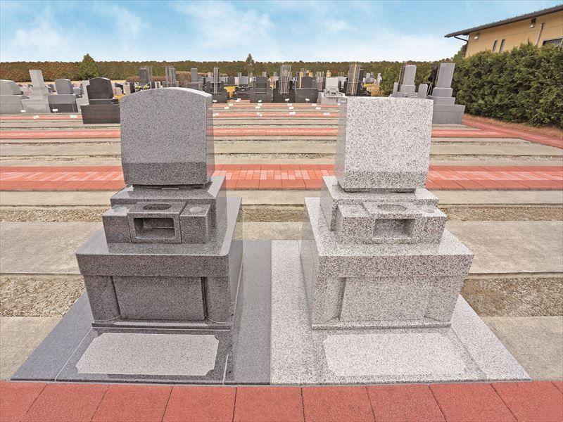 メモリアルパーク流山聖地 洋型墓石