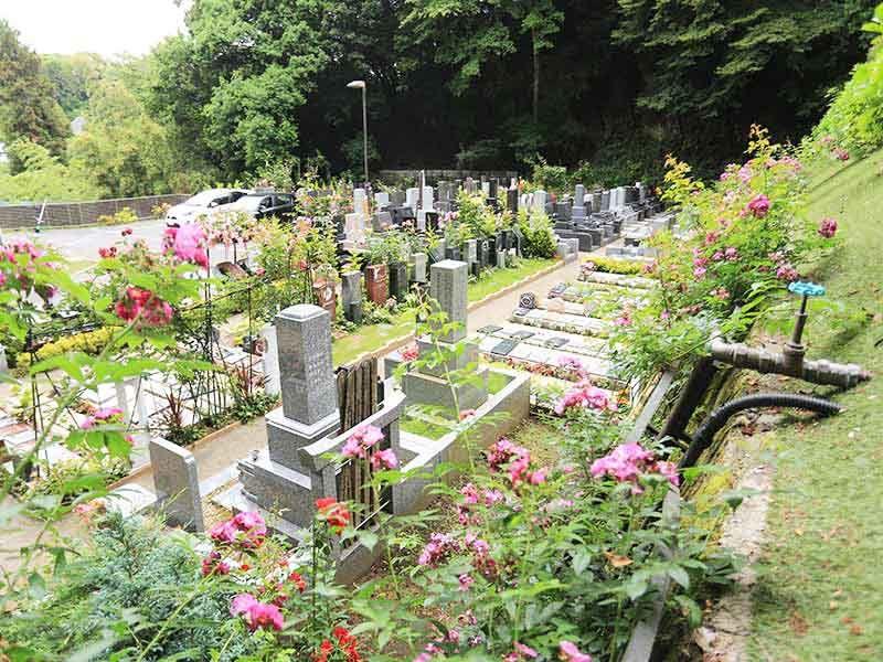 鎌倉やすらぎの杜 四季折々の自然を楽しめる墓域②
