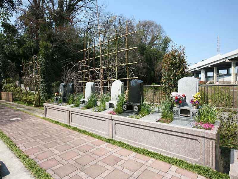 川口 永久の絆 永代供養付一般墓地 時の栞「花壇型」