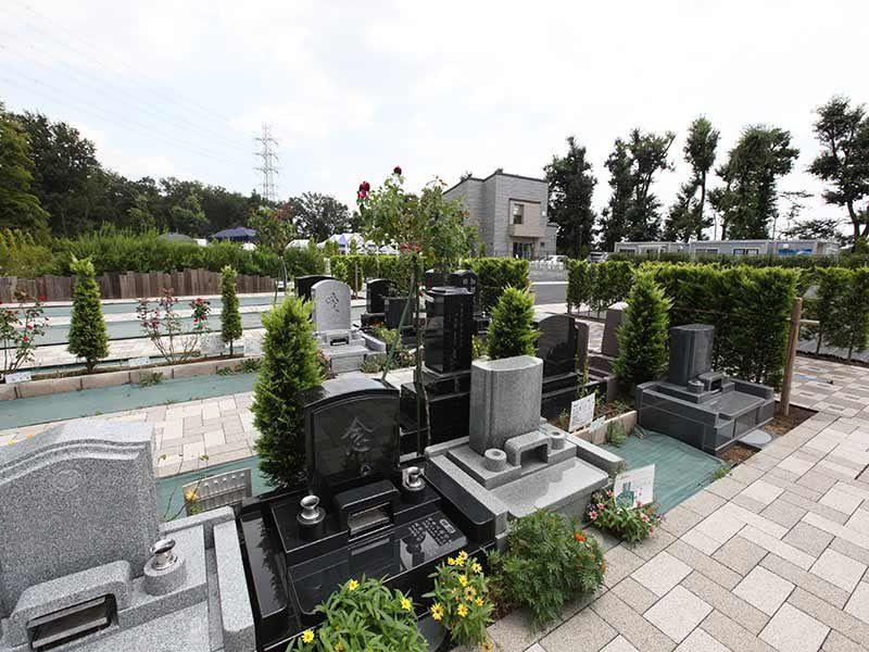 やすらぎの花の里 所沢西武霊園 ゆったりとお参りができる墓域