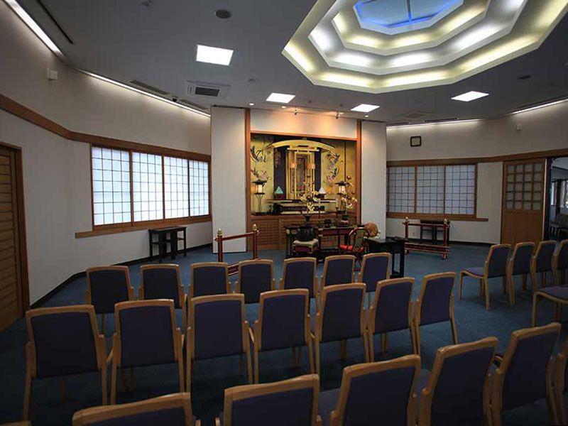 東京霊園 法要施設