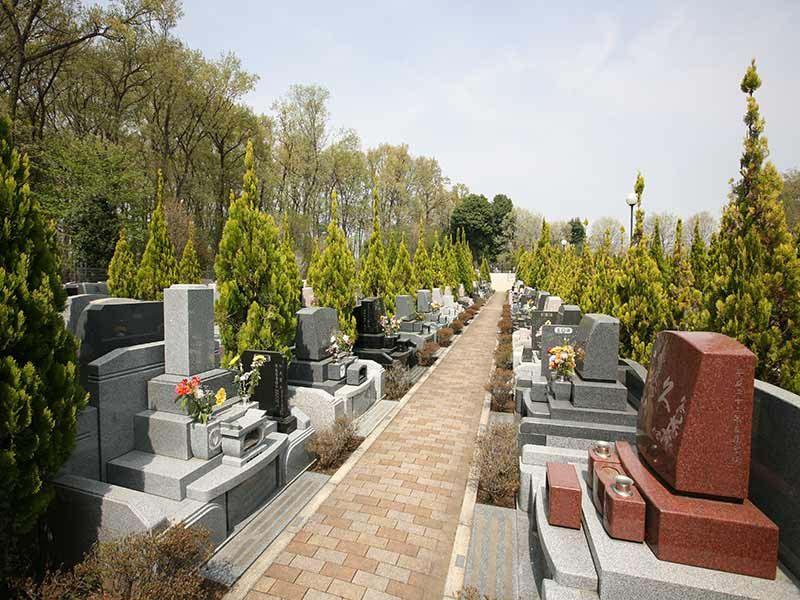 フォレスト所沢 緑豊かな墓域