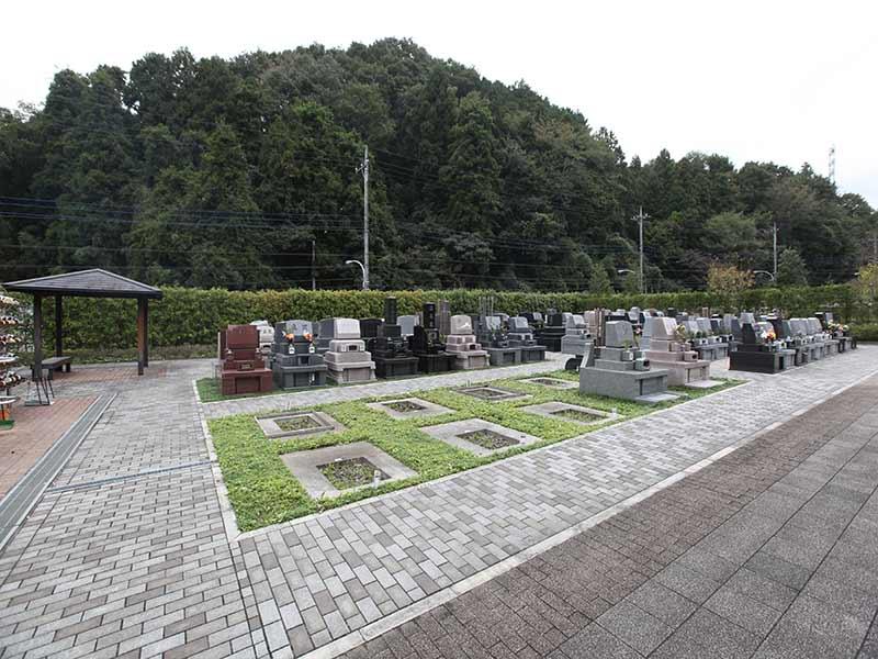 空き区画のある八王子 上川霊園の墓域