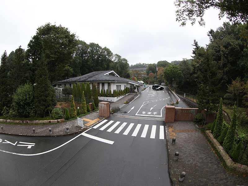 八王子 上川霊園の入口