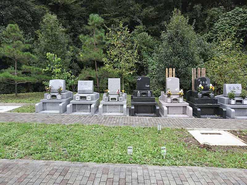 まだ空きのある八王子 上川霊園の墓域