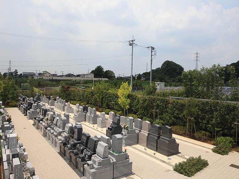 源長寺墓地まどかの杜 バリアフリー設計なのでどなたでも安心してお参りできる墓域