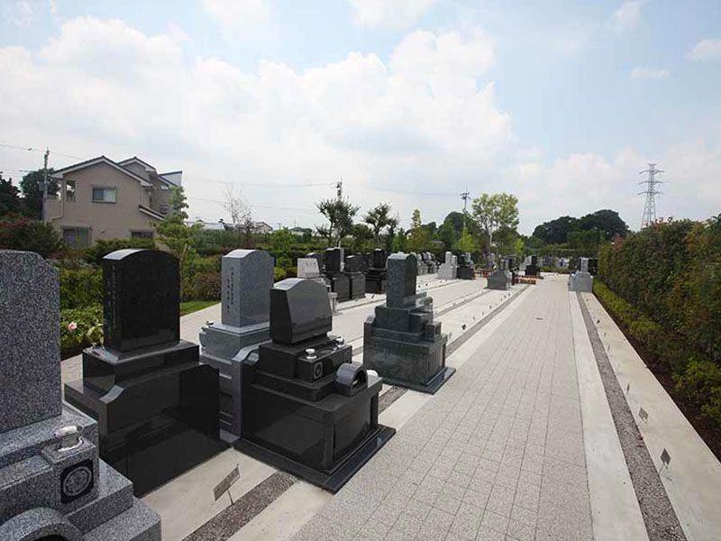 源長寺墓地まどかの杜 管理の行き届いた清潔な墓域