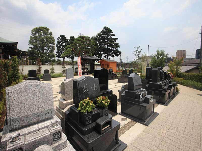 源長寺墓地まどかの杜 ゆとり設計の墓域