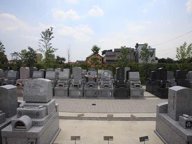 源長寺墓地まどかの杜 水はけの良い墓域①