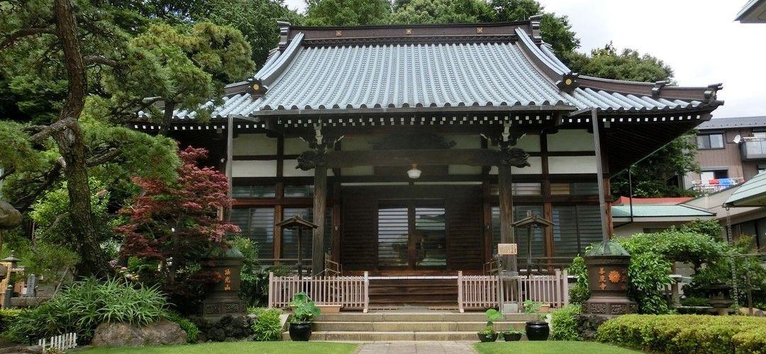 善慶寺の本堂