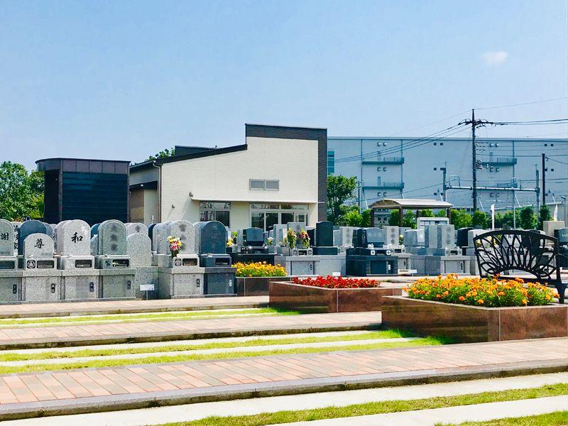 駅前霊園美南 バリアフリー設計の霊園