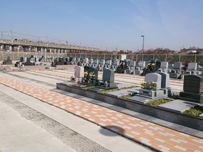 船橋中央メモリアルパーク 洋型墓石