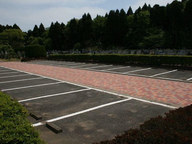 千葉中央霊園 駐車場