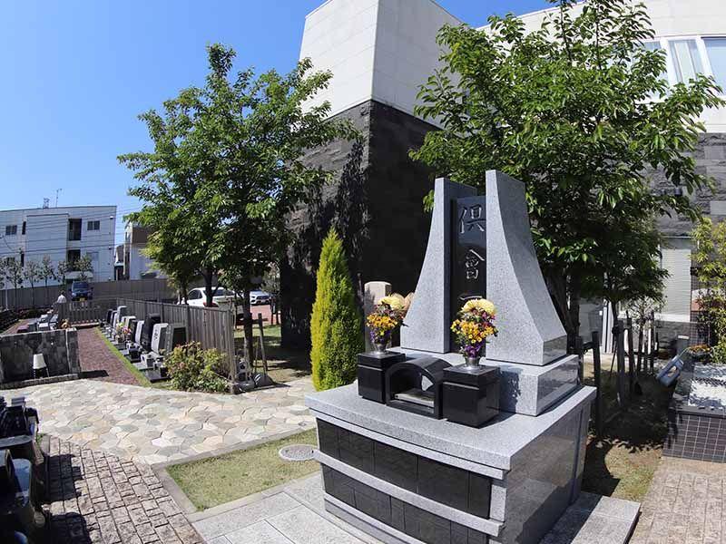 公園墓地 調布霊園 ついのしるべ 庭園墓納骨壇