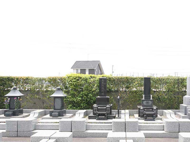 法光寺墓苑 ゆとりのある一般墓区画