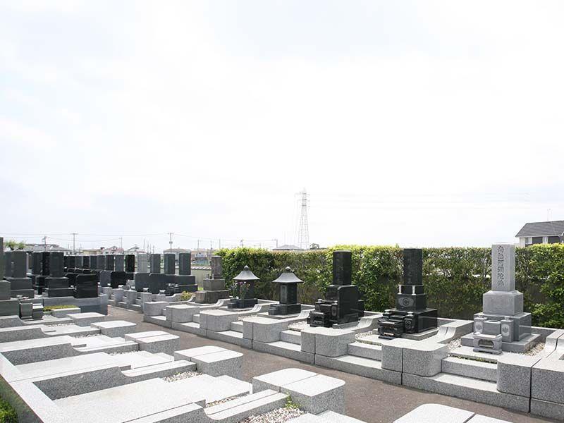法光寺墓苑 区画整備された墓域