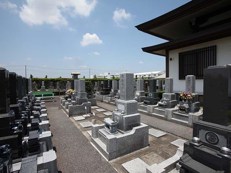 法光寺墓苑 まだ余裕のある区画