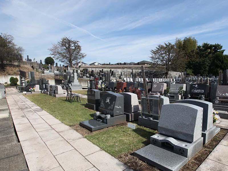 厚木やすらぎ霊園 日当たりの良い墓域