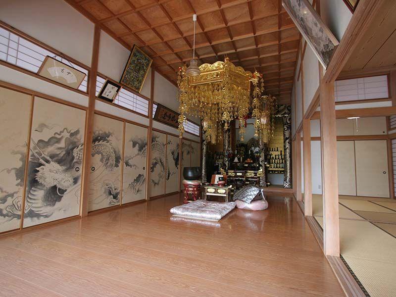 小川町青山メモリアルパーク 法要施設も完備