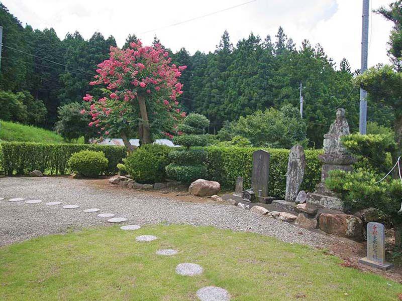小川町青山メモリアルパーク 境内の石碑