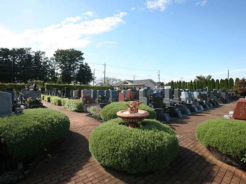 北本霊園 緑豊かな公園墓地