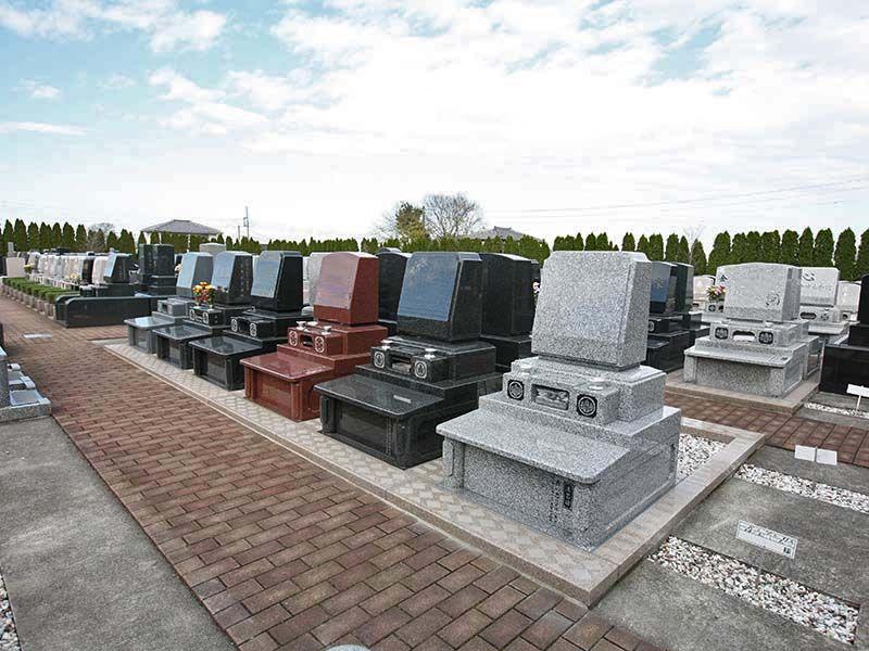 北本霊園 園内はバリアフリー設計