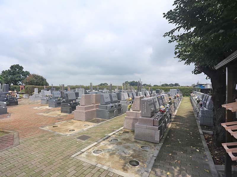 殿山聖地墓苑 苑内はバリアフリー設計