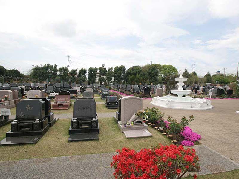 メモリアルパーク花の郷聖地 相模大塚 ガーデン風の洋風墓所