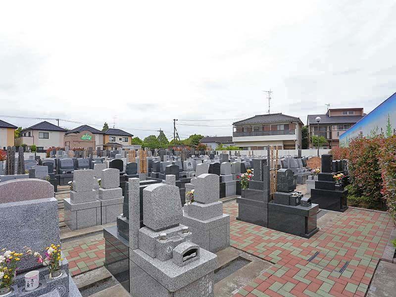 メモリアルみさと公園 一般墓所風景