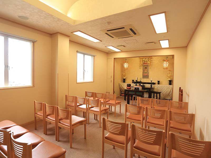 陽光台霊園 法要施設