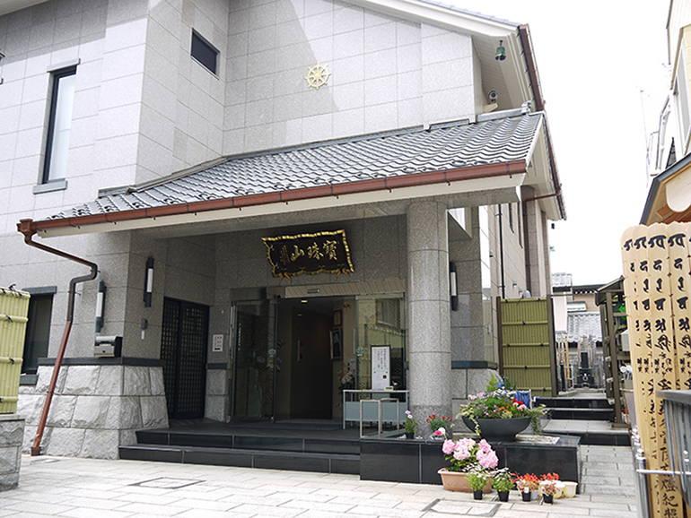 寶珠山 東福院 四ッ谷納骨堂 重厚感ある入り口
