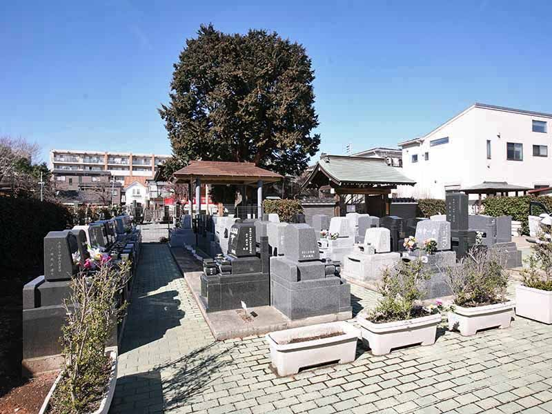 与野正圓寺墓苑 日当たりのよい墓域