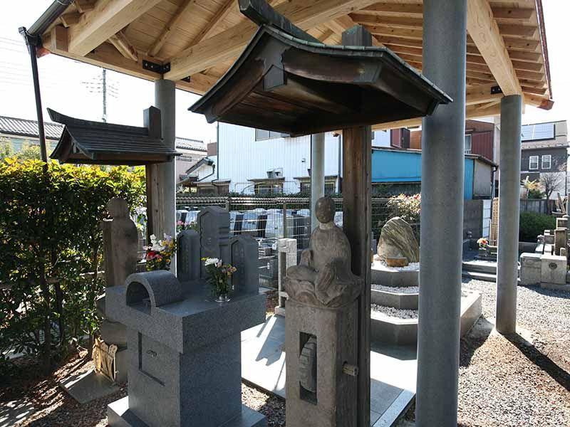 与野正圓寺墓苑 様々な供養碑