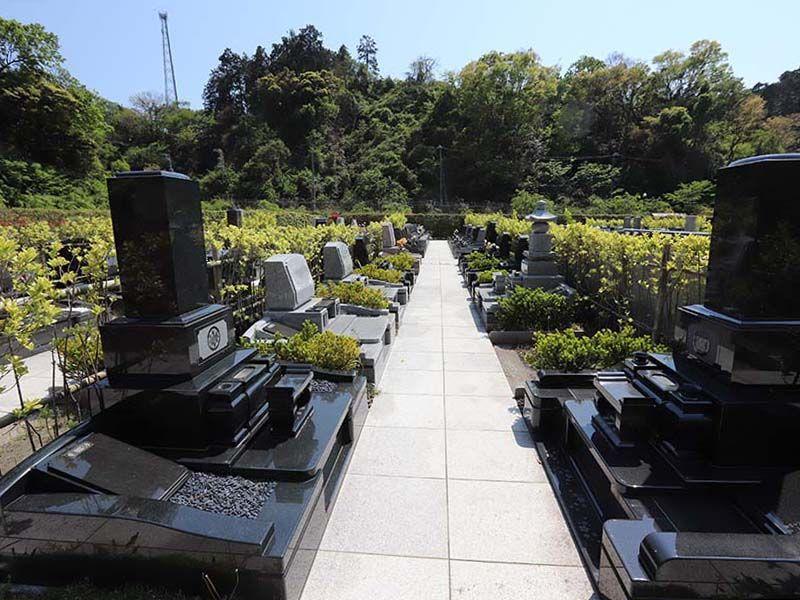 横浜永久の杜2期 和型・洋型墓石